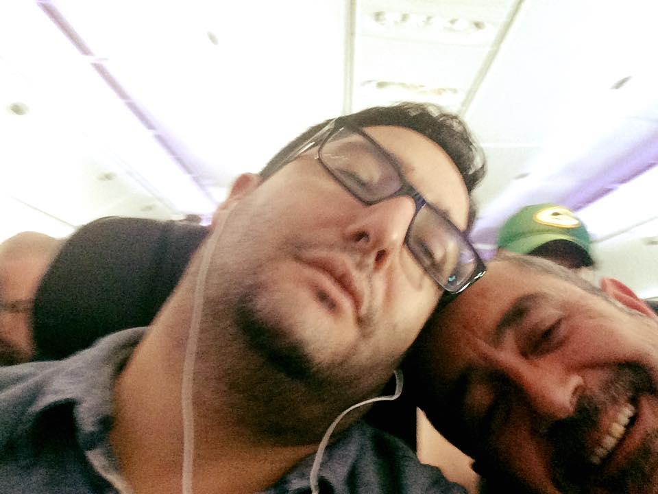 VMC-Media-Peter-Vincente-John-Marraffino-Plane-Naps VMC Media Photos