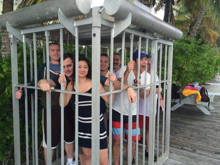 VMC-Media-Team-Caged-in-Bahamas-John-marraffino-Jennifer-yang-Ryan-Lindsay-Kevin-Brault-768x576 VMC Media Staff in Bahamas