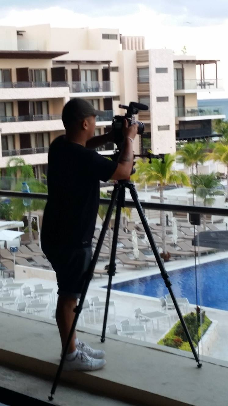 VMC-Media-CBC-The-Goods-Royalton-Cancun-filming-the-hotel CBC The Goods with Sunwing (Cancun)
