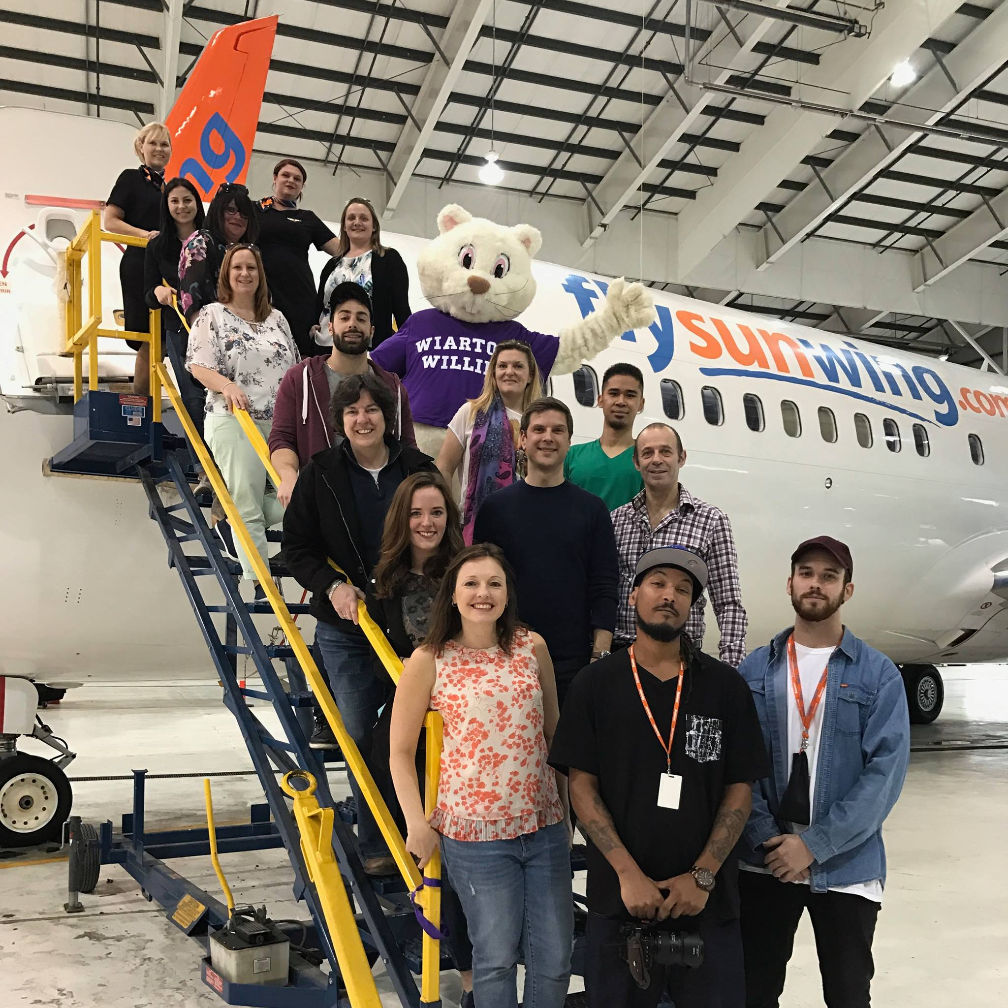 VMC-Media-Sunwing-Wiarton-Willie-Commercial-Shoot