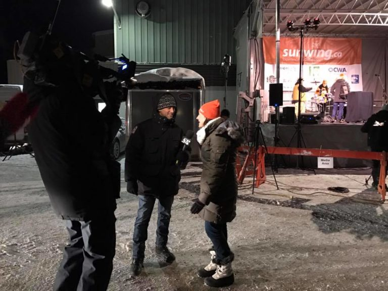 VMC-Media-Sunwing-Wiarton-Willie-Festival-Early-Morning-Interviews-768x576 Wiarton Willie Festival