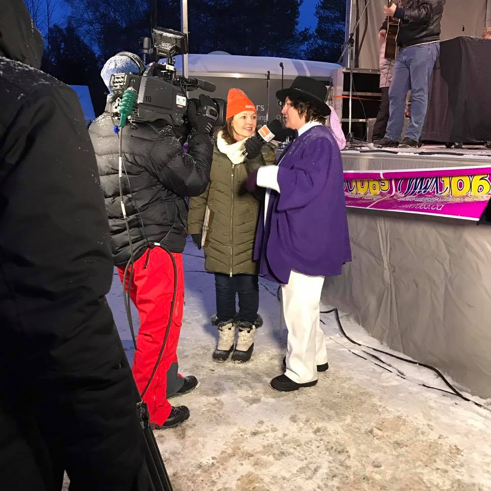 VMC-Media-Sunwing-Wiarton-Willie-Festival-Interview-with-Mayor Wiarton Willie Festival