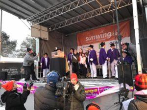VMC-Media-Sunwing-Wiarton-Willie-Festival-ceremony-300x225 Wiarton Willie Festival