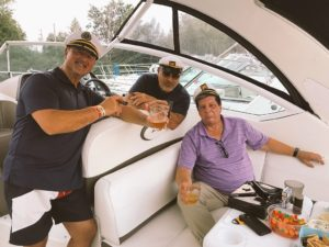 VMC-Media-John-Marraffino-Boat-Chilling-OK-Tire-300x225 OK Tire: Boat Night 2018